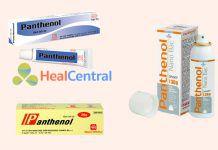 Các dạng thuốc Panthenol