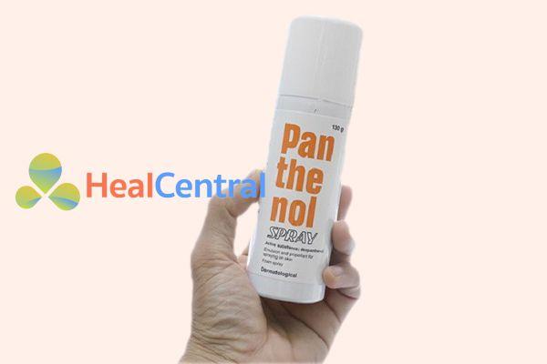 Cách sử dụng thuốc Panthenol dạng xịt