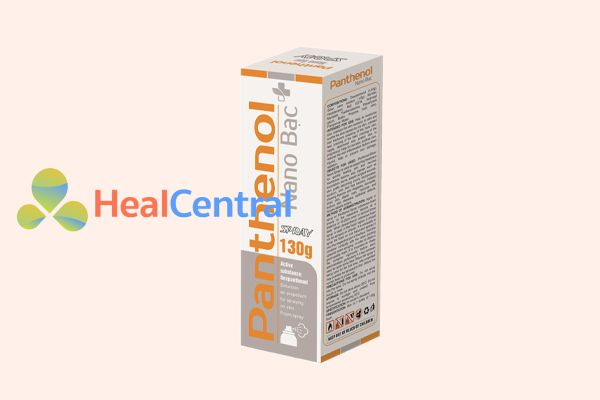 Panthenol Nano Bạc spray 130g