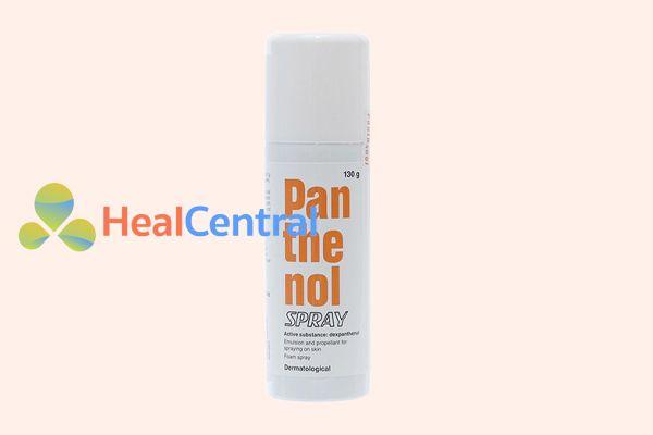 Thuốc xịt trị bỏng Panthenol spray 130g