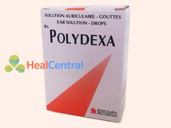 Không dùng Polydexa cho người bị thủng màng nhĩ