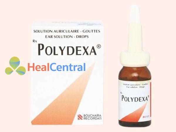Hình ảnh thuốc nhỏ tai Polydexa mặt trước
