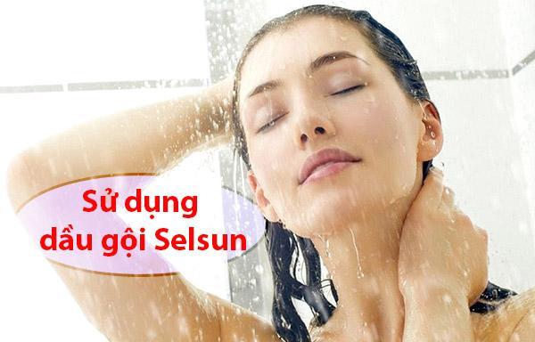 Cách sử dụng dầu gội Selsun