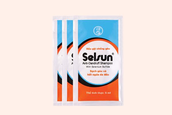 Selsun blue trị gàu và nấm