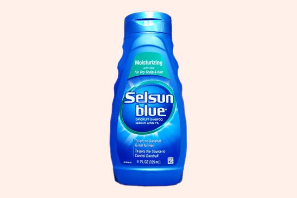 Selsun blue cho da đầu khô ngứa