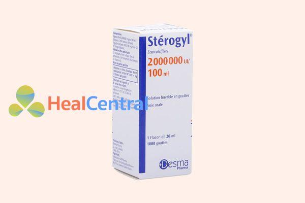 Liều dùng thuốc Stérogyl khác nhau đối với từng lứa tuổi và tình trạng của trẻ nhỏ