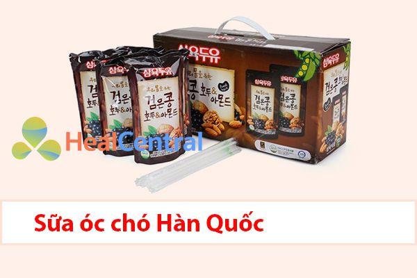 Sữa óc chó được sản xuất tại Hàn Quốc