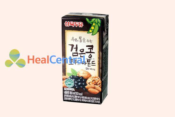 Sữa óc chó hạnh nhân đậu đen Hàn Quốc 190ml