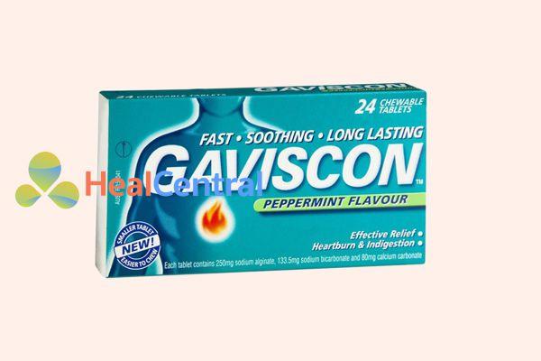 Thuốc dạ dày Gaviscon - Hiệu quả trong điều trị trào ngược dạ dày, thực quản