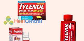 Các dạng thuốc Tylenol