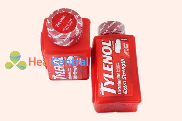Lọ thuốc Tylenol Extr Strength 500mg