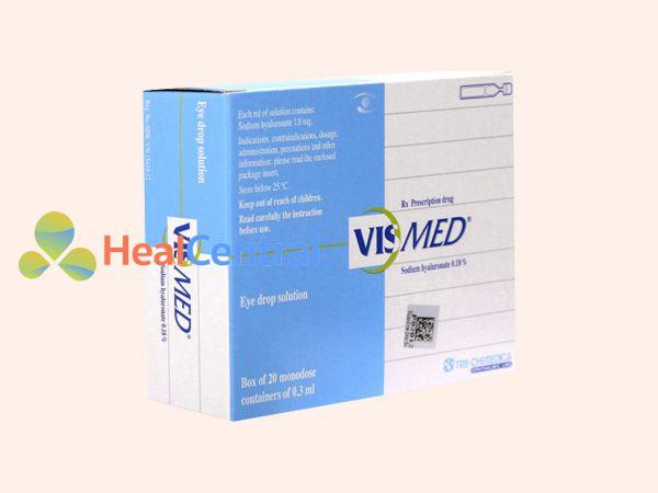 Hình ảnh hộp thuốc Vismed