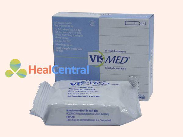 Thuốc Vismed - điều trị chứng mỏi mắt, khô mắt