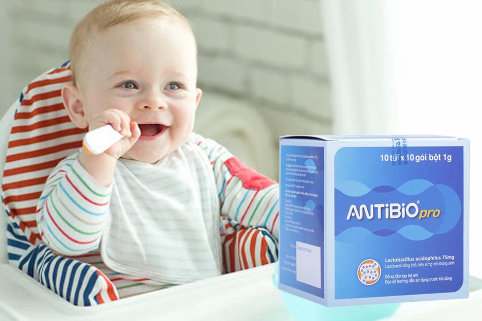 Men tiêu hóa Antibio giúp cân bằng hệ vi sinh đường ruột
