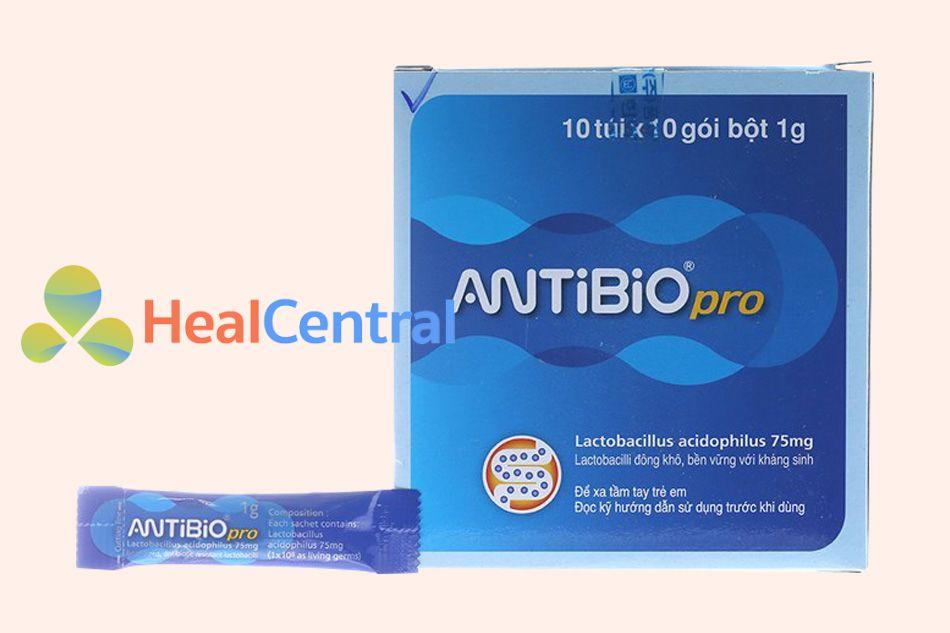 Hình ảnh hộp Antibio Pro