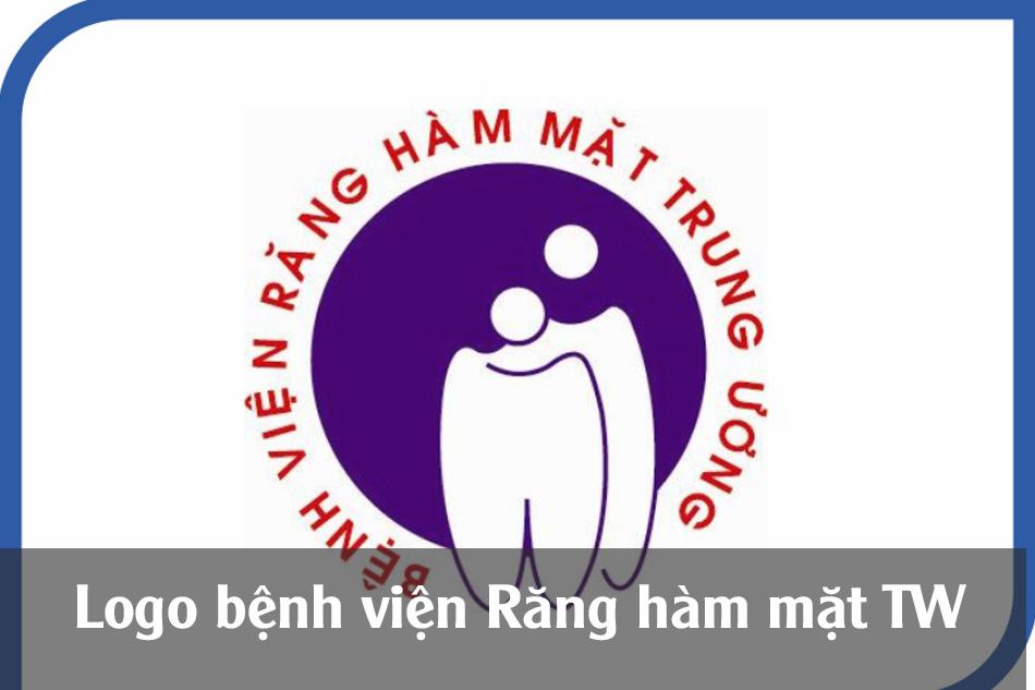 Logo của bệnh viện Răng Hàm Mặt Trung Ương