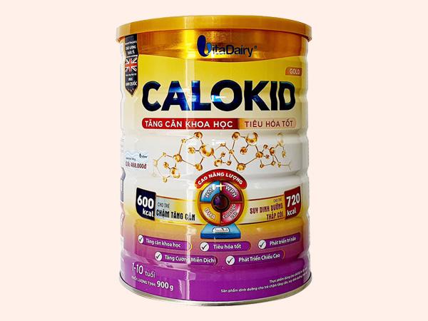 Hình ảnh hộp sữa Calokid Gold