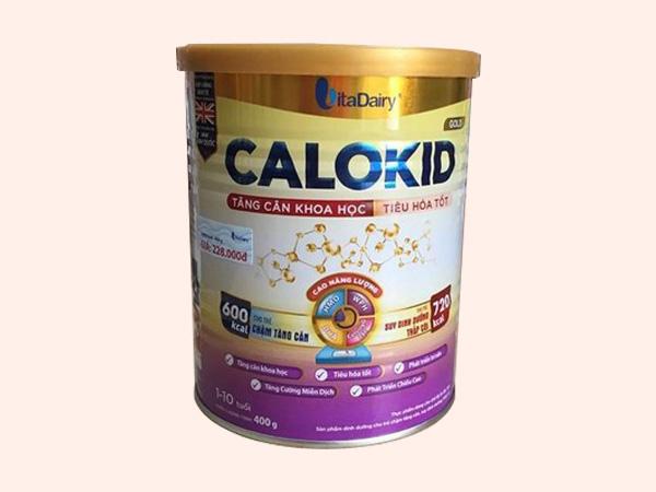 Sữa Calokid sản xuất bởi VitaDairy