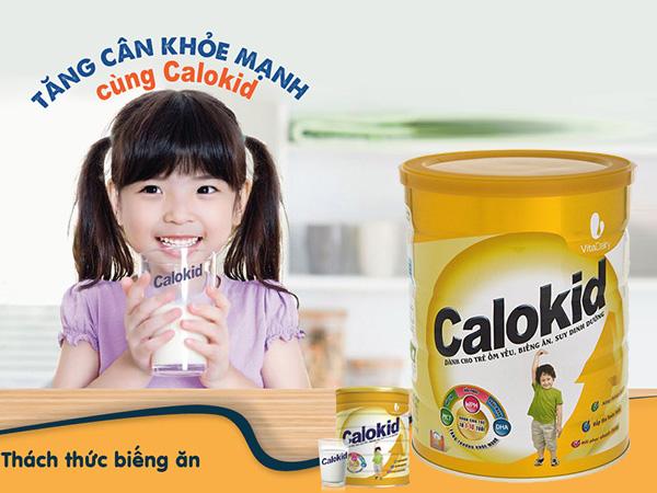 Sữa Calokid - bổ sung nhiều dưỡng chất thiết yếu cho trẻ