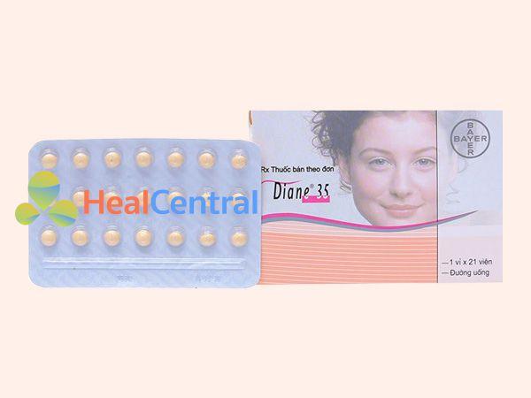 Thuốc Diane 35 - điều trị mụn trứng cá nặng