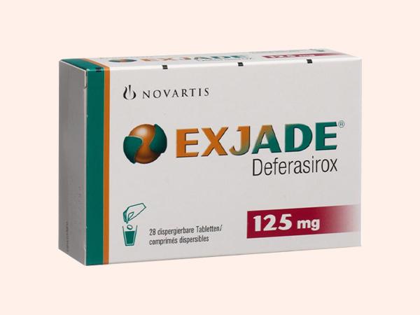Thuốc Exjade 125mg