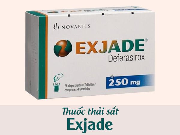 Thuốc Exjade 250mg