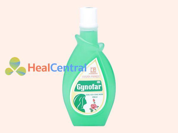 Hình ảnh lọ dung dịch vệ sinh Gynofar 250ml
