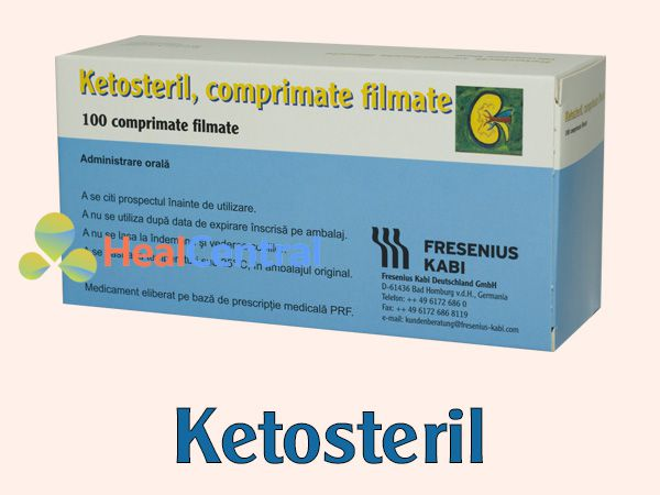 Thuốc Ketosteril