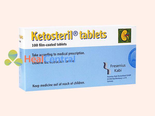 Thuốc Ketosteril giúp tăng cường sức đề kháng