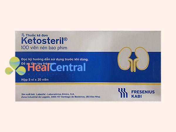 Ketosteril mẫu mới