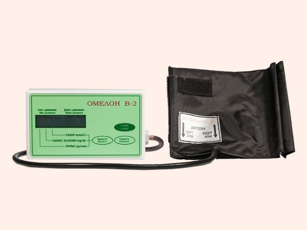 Máy đo đường huyết không cần lấy máu Omelon