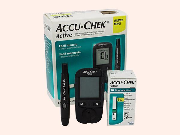 Máy đo đường huyết của Đức- Accu Chek Active