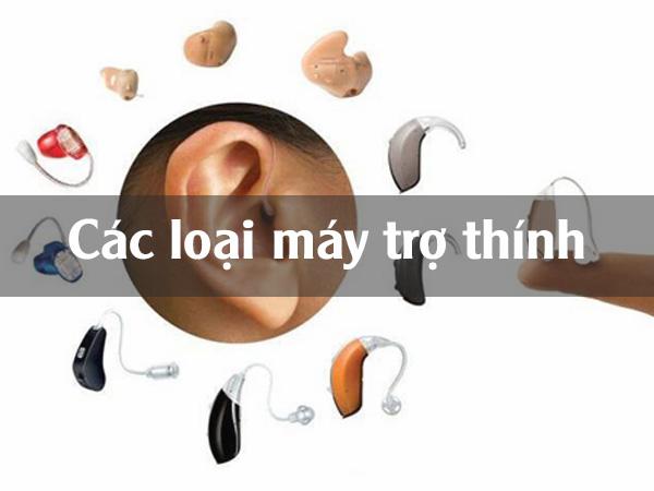 Phân loại máy trợ thính