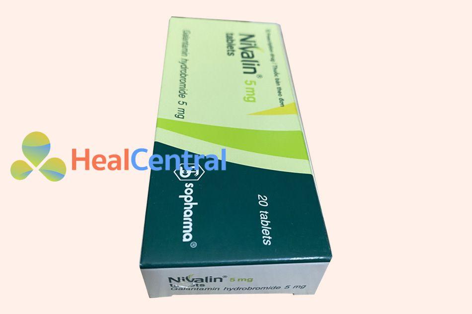 Hình ảnh hộp thuốc Nivalin 5mg