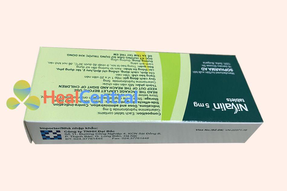 Thuốc Nivalin - điều trị cho bệnh nhân Alzheimer