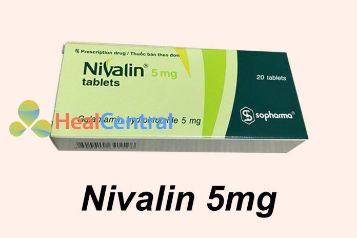 Thuốc Nivalin 5mg