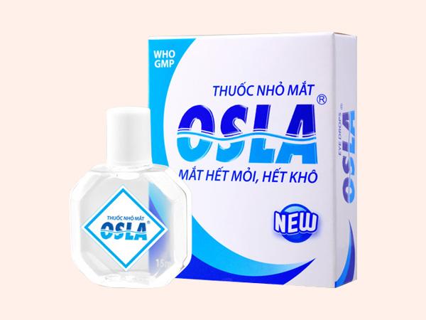 Thuốc nhỏ mắt Osla sản xuất bởi Công ty Merap