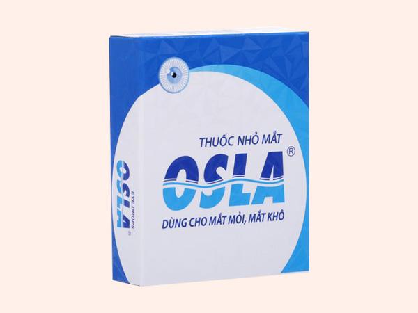 Hình ảnh hộp thuốc nhỏ mắt Osla