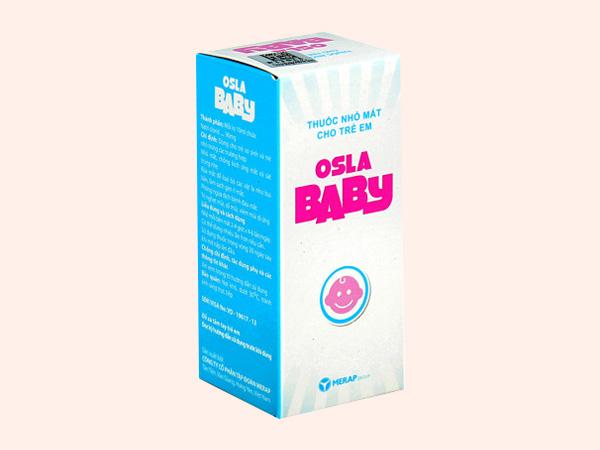 Thuốc nhỏ mắt Osla Baby