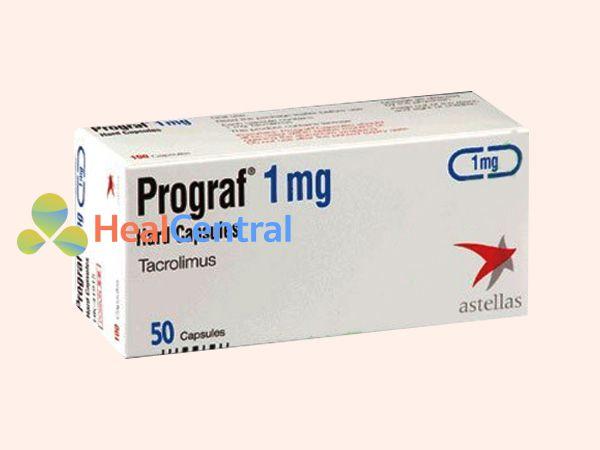 Thuốc Prograf có công dụng ức chế miễn dịch