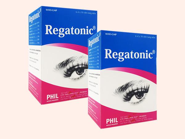 Thuốc Regatonic - cải thiện mỏi mắt, mờ mắt