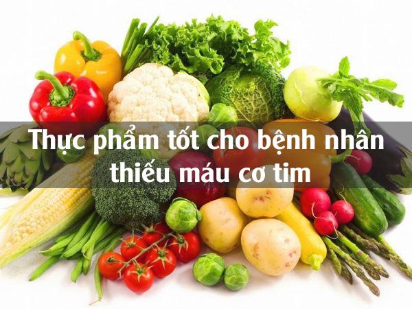 Những thực phẩm bệnh nhân viêm cơ tim nên sử dụng