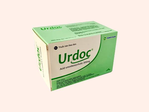 Thuốc Urdoc có thành phần acid ursodeoxycholic