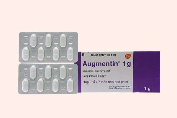 Biệt dược nổi tiếng Augmentin của GSK