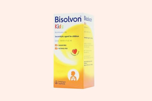 Hộp thuốc Bisolvon Kids