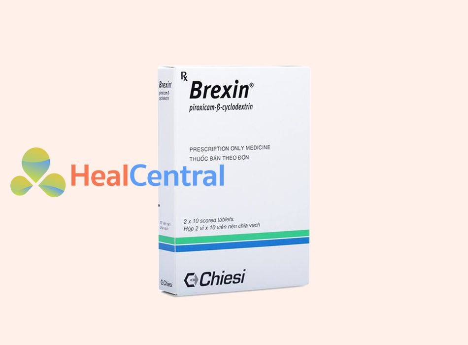 Hình ảnh: Hộp thuốc Brexin