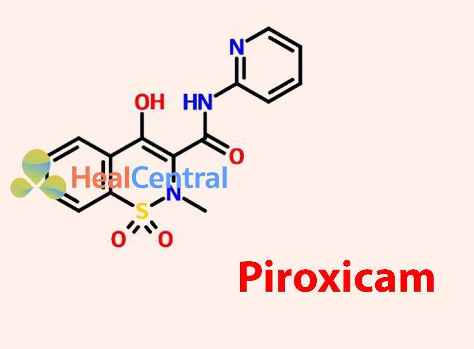 Công thức hóa học của Piroxicam
