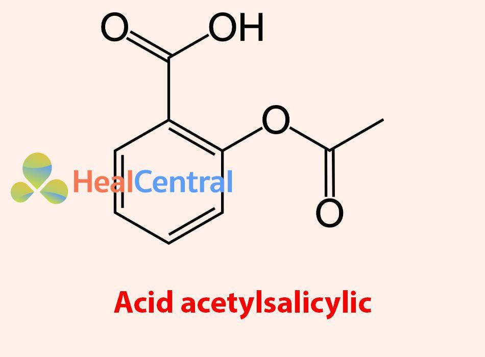 Công thức hóa học của Axit acetylsalicylic