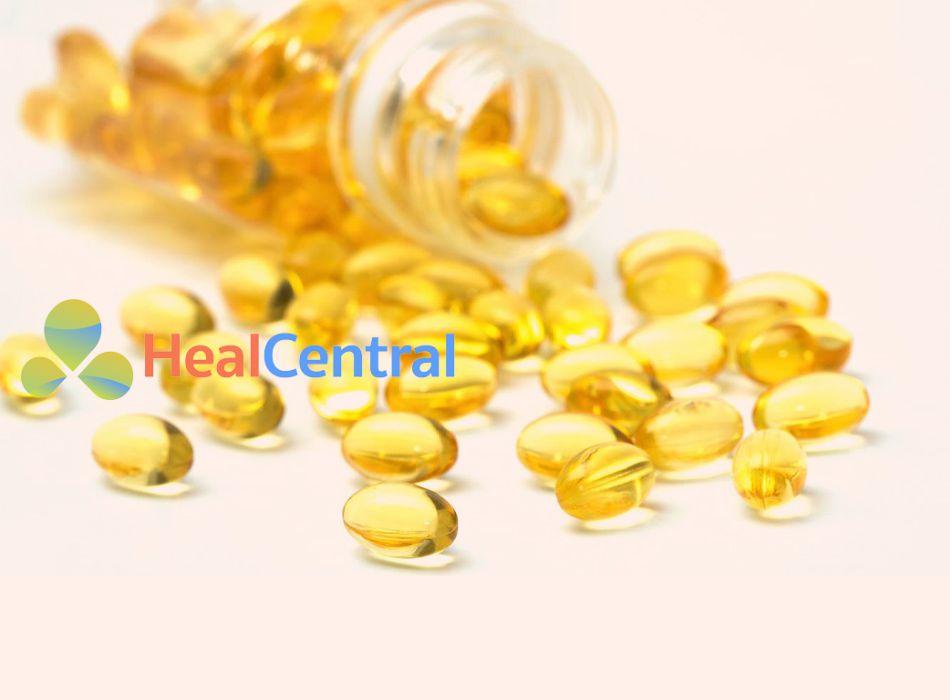Dầu vitamin E giúp làm mờ sẹo hiệu quả
