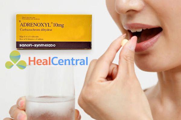 Cách sử dụng thuốc Adrenoxyl